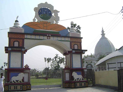 Entrance to Madhupurdham Temple